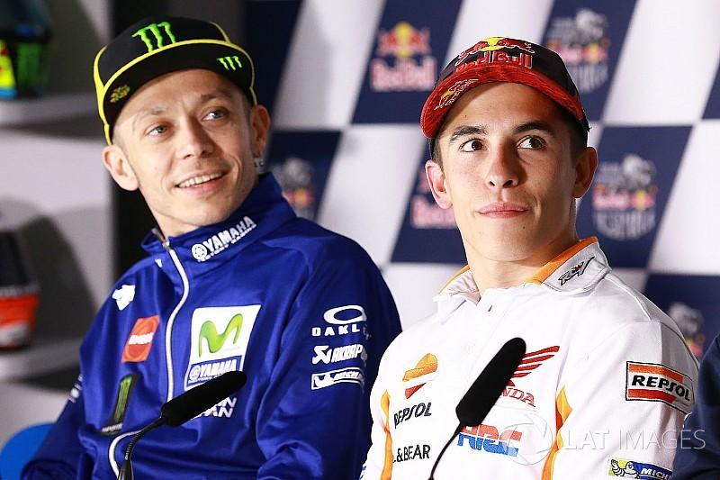 """Márquez: """"A Rossi hay que admirarlo por lo que hace y cómo lo hace"""""""
