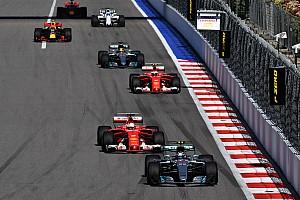F1 Noticias de última hora En 2017 hubo menos rebases en las carreras de F1