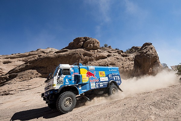 Dakar Dakar 2017, Stage 11: Nikolaev closes on second trucks victory