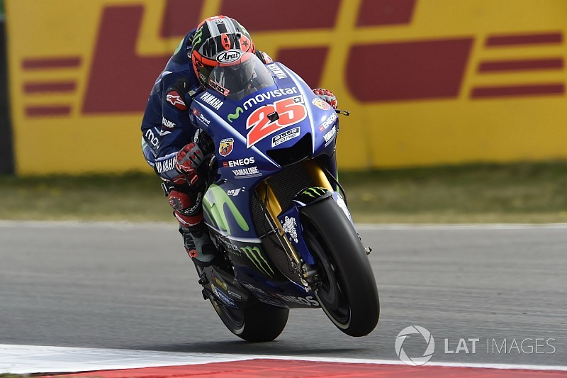 MotoGP Belanda: Vinales ungguli Folger di FP2, Rossi keenam