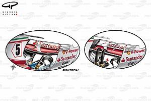 Formel-1-Technik: Das neue Ferrari-Paket für mittleren Abtrieb