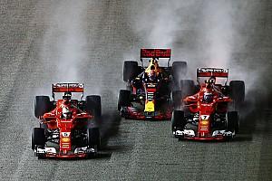 Телеметрия Red Bull показала, что Ферстаппен затормозил перед аварией