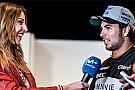 Checo Pérez presume en redes su nuevo bólido y casco