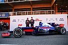 Формула 1 Видео: первый выезд на трассу Toro Rosso STR12