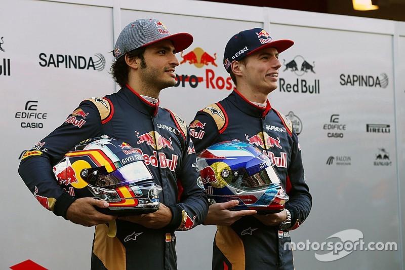 【F1】サインツ「自分のキャリアにフェルスタッペンの影響はない」