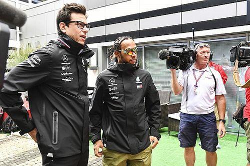 """Wolff dénonce les """"absurdités"""" autour du salaire de Lewis Hamilton"""