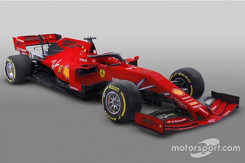 Ferrari unveils revised F1 livery for Australian GP