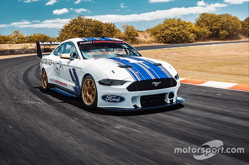 Ford launches the Supercars Mustang