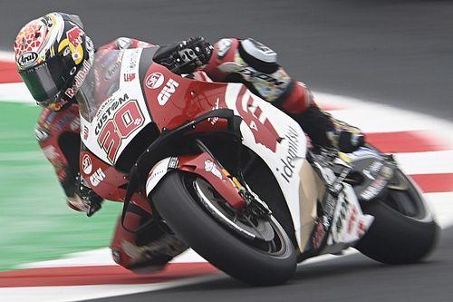 Nakagami snelste in weinig representatieve warm-up GP Emilia-Romagna