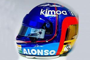 Alonso, Abu Dhabi'de özel bir kask tasarımıyla yarışacak