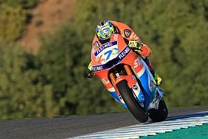Tes Moto2 Jerez: Baldassarri teratas, Dimas Ekky ke-17