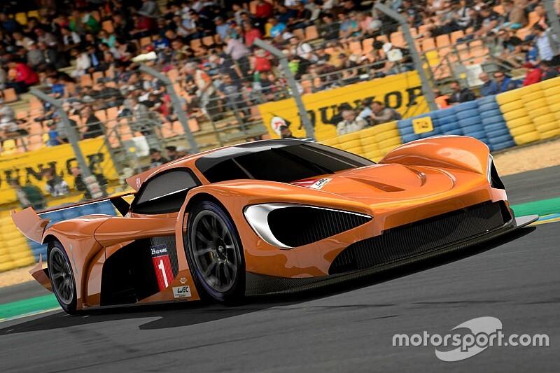 La entrada de McLaren en el WEC 2020/21,