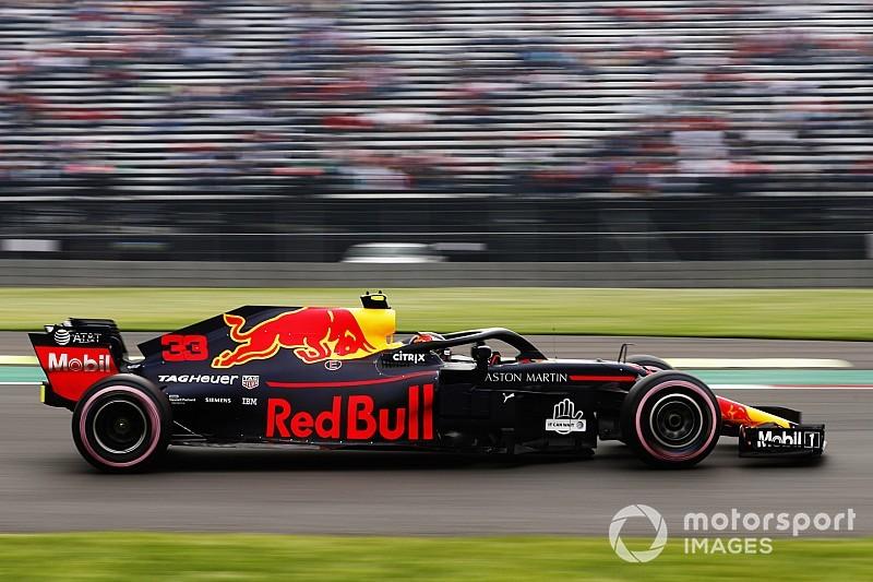 Verstappen marca el mejor tiempo en la PL3 en México