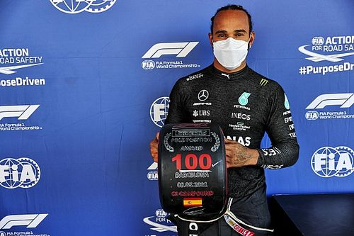 Fotogallery F1: Hamilton fa 100 pole al GP di Spagna