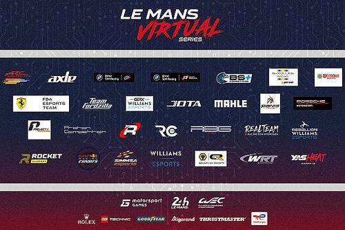 2021/22勒芒虚拟系列赛参赛车队公布