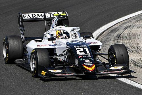 Iwasa erft zege in eerste F3-race Hungaroring door tijdstraf Colombo