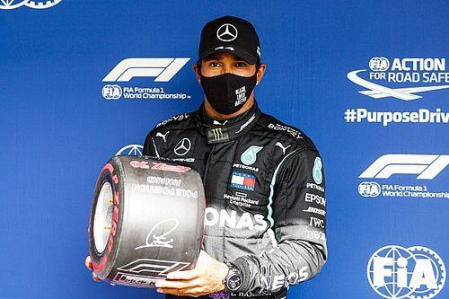 Hamilton pokonał Bottasa