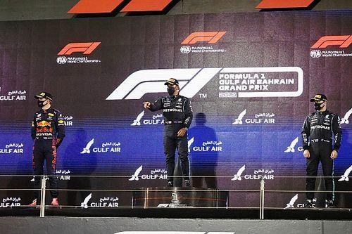 Trio Hamilton-Verstappen-Bottas Pecahkan Rekor Berbagi Podium