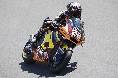 Moto2, Le Mans, Libere 2: Lowes sotto al sole, terzo Bezzecchi