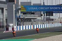 Así quedaría la inverosímil parrilla de MotoGP tras el test de Qatar