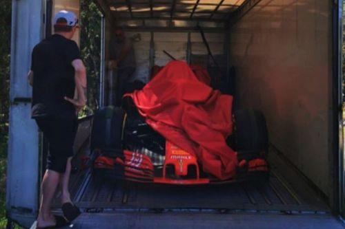 Ferrari, che regalo a Kimi: è la SF71H con cui vinse ad Austin!