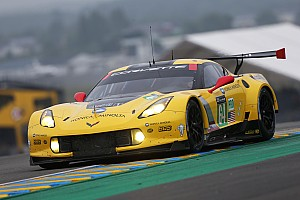 Le Mans Testing report Garcia fastest driver in GTE Pro Class on Test Day