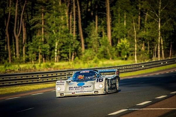 Vintage Zak Brown sweeps Porsche 962 to class victory at Le Mans Classic