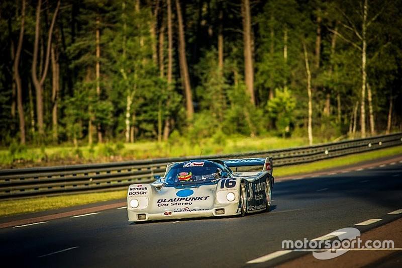 Зак Браун за рулём Porsche 962 одержал победу в своём классе в Le Mans Classic