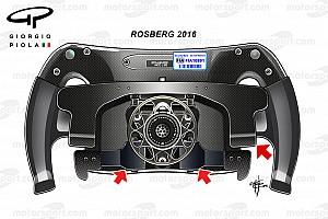 نظرة تقنيّة: مقود سيارة نيكو روزبرغ
