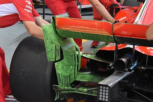 How F1 teams are exploiting rear wing endplate rules