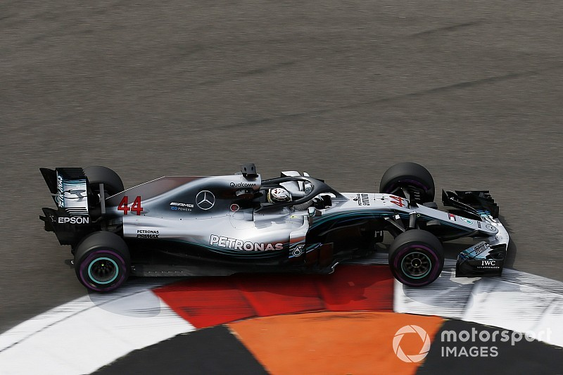 Russian GP: Hamilton leads dominant Mercedes 1-2 in FP2