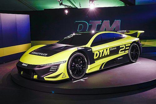 DTM展示1000bhp电动原型赛车