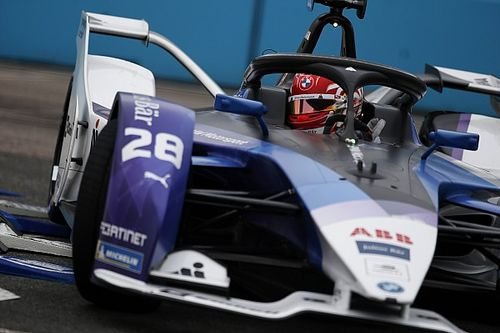 London E-Prix: Guenther leads BMW Andretti 1-2 in second practice