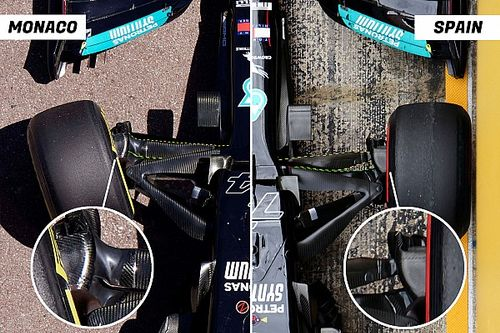 Ezzel a változtatással próbált a Mercedes az élen maradni Monacóban