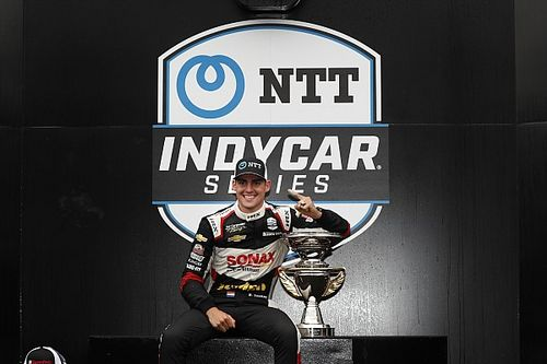 """VeeKay """"grateful"""" for Road To Indy and advice from Luyendyk"""