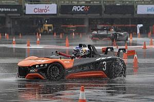 Fotos: los coches VUHL de la Race of Champions 2019 se presentan en la lluvia de México