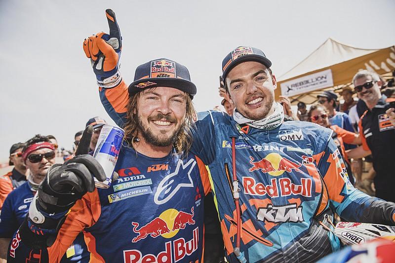 KTM sigue mandando en el Dakar gracias a un indestructible Price