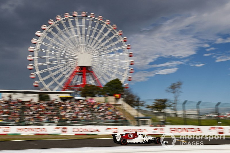 Diaporama: l'Alfa Romeo Sauber dans le Grand Prix du Japon