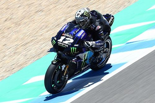 Vinales heads second Jerez MotoGP test session