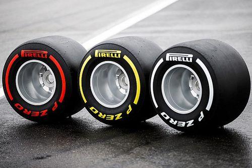 Pirelli dévoile tous les choix de pneus pour la saison de F1