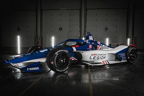 Ganassi reveals American Legion livery for Kanaan at Indy