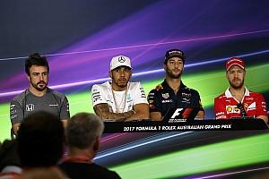 Formula 1 Press conference Australian GP: Thursday's Press Conference