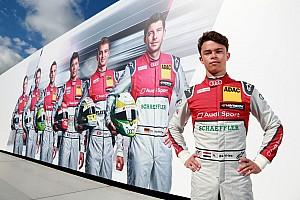 DTM Nieuws De Vries in actie tijdens DTM-test Lausitzring
