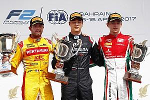 FIA F2 Race report F2 Bahrain: Markelov juarai Feature Race, Gelael P17