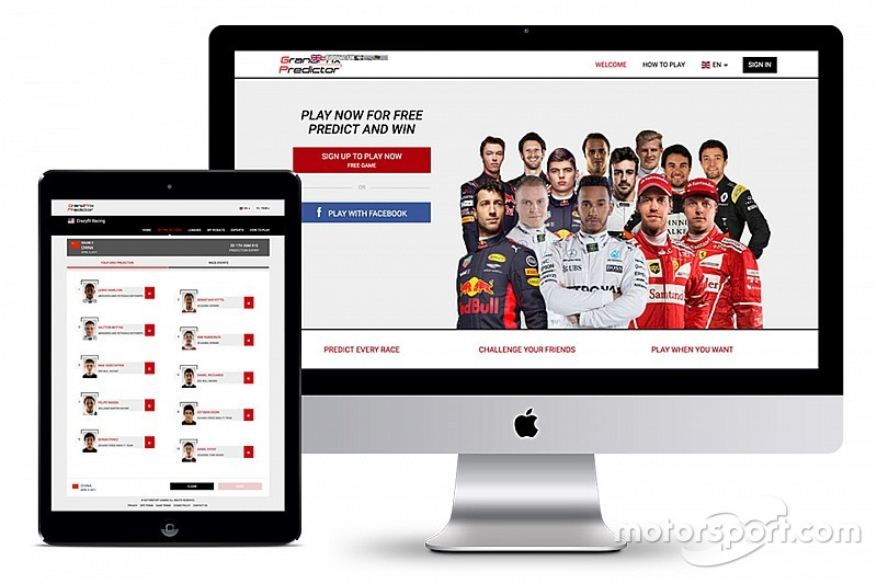 Motorsport Gaming startet Grand Prix Predictor