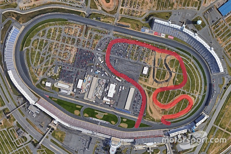 NASCAR Stages Road Course Test At Charlotte Motor Speedway - Charlotte motor speedway events car show