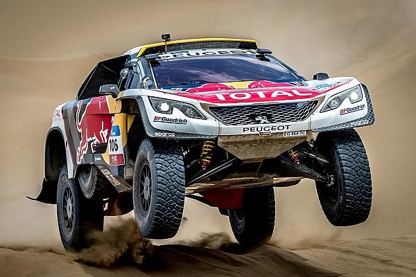 Rallye-Raid Rapport d'étape Étape 11 - Peterhansel l'emporte pour un nouveau doublé Peugeot