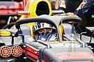 F1 Ricciardo asegura que los fans deberán acostumbrarse al halo