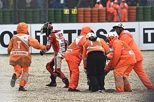 MotoGP Noticias de última hora Lorenzo dijo que se fue al piso al realizar un ajuste en su moto