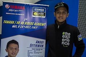 Other bike Breaking news Anggi Setiawan terpilih mengikuti Yamaha VR46 Master Camp